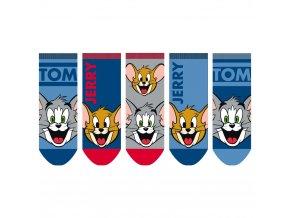 Tom & Jerry chlapecké ponožky, 5 párů
