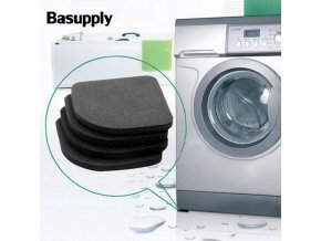 Basupply 4pcs lot Refrigerator Anti vibration Pad Mat For Non slip Mats Set Bathroom Accessories 13