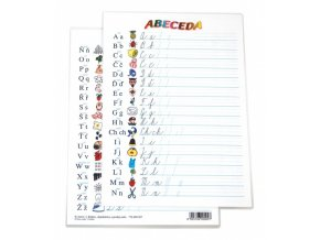 Tabulka A4 - Abeceda - lamino