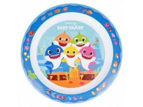 Baby Shark plastový talíř 22 cm