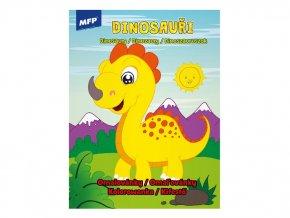 Omalovánky A4, Dinosauři