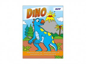 Omalovánky podle čísel Dinosauři