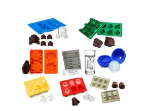Star Wars Ice Tray Silicone Mold Ice Cube Tray Chocolate Mould Death Star Darth Vader R2D2 17