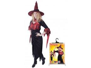Dámský karnevalový kostým Čarodějnice