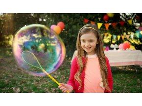 Bublifuk Fru Blu se smyčkou - set na mega bubliny