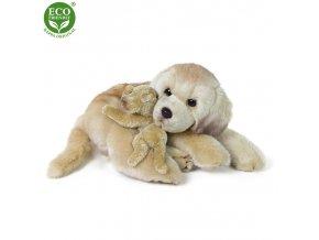 ECO-FRIENDLY plyšáci - Labrador s mládětem, 27 cm