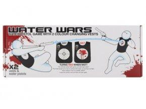 Hra Vodní válka (2 vesty s terčem a 2 pistole)