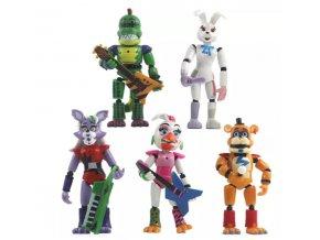 FNAF Five Nights At Freddy´s figurky sada 5 ks