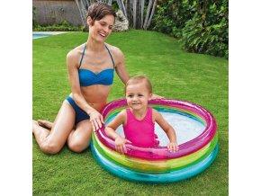 Bazén nafukovací Duha, 1-3 roky