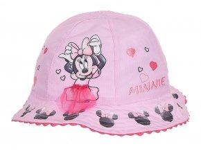 MINNIE MOUSE dívčí klobouček růžový