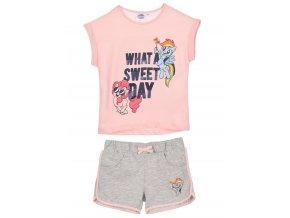 My Little Pony dívčí letní set tričko a kraťasy