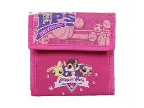 Littlest Pet Shop Dětská velká peněženka LPS University