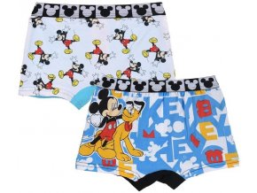 Mickey Mouse Chlapecké boxerky duopack