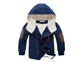 Kids coat 2017 Autumn Winter Boys Jacket for Boys Children Clothing Hooded Outerwear Baby Boy Clothes dark blue