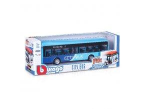 Bburago City Bus autobus kov, 19 cm
