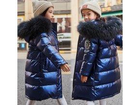 Dětský zimní kabát (parka) do -30°C