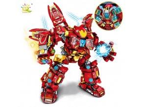 HUIQIBAO 820PCS City War Super Armor Robot Building Blocks Military Warrior Mecha Figures Weapon Bricks Toys.jpg Q90.jpg