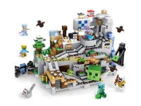 Minecraft stavebnice Jeskyně v horách