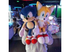 Plyšáci Sonic a Miles Prower, 40 cm