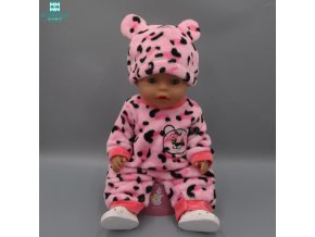 Fashion Cartoon Creativity Suit Casual Set Clothes for dolls fits 43cm Baby Born zapf doll Accessories 1