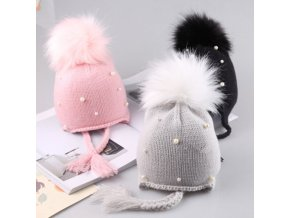 2018 arrival cute kid babies Beanies caps Child Crochet Winter Warm Knit Hats Cap Baby Boy 1