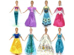 NK One Set Doll Dress Similar Fairy Tale Princess Snowwhite Cinderella Anna Wedding Dress For Barbie 1