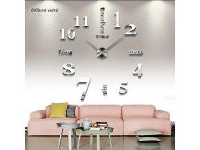 Nástěnné 3D hodiny více variant