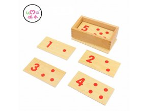 Montessori Wooden Math Toys For Children Preschool Educational Montessori Materials Number Matching Teaching Aids UA2765H Montessori Toy