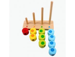 Wooden Montessori Learning Toys Counting Beads Baby Abacus Mathematics Preschool Training Materials Math Toys UJ1188H 1