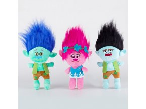 23cm Movie Trolls Plush Toy Doll The Good Luck Trolls Poppy Branch Dream Works Soft Stuffed 1