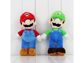 25cm Super Mario Plush Toy Mario Luigi Soft Stuffed Doll With Tag 1