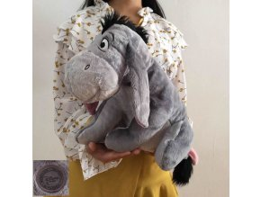 Free Shipping 36cm 14 Original Gray Eeyore Donkey Stuff Animal Cute Soft Plush Toy Doll Birthday 1