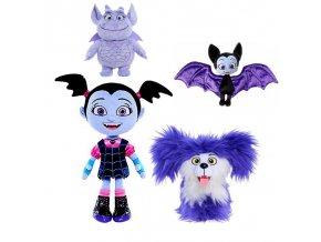 25cm Vampirina The Vamp Bat Girl and the Purple Dog Stuffed Animal Plush Doll Toy 1