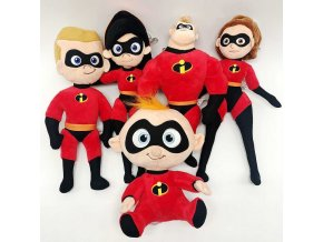 20 25cm The Incredibles 2 Plush Toy Doll Mr Incredible Family Helen Jack Bob Parr Plush 1