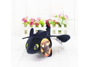 1Pcs 23cm How To Train Your Dragon Toothless Dragon Plush Night Fury Stuffed Soft Dolls Toys 1