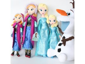 Disney Frozen 50 CM Anna Elsa Plush Doll Toys Cute Girls Toys Snow Queen Princess Anna 1