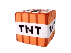 2018 hot 10cm 10cm Minecraft Plush Toys Cotton Stuffed TNT Key Chain Bomb For Kids gift 1