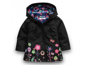 Baby Girls Jacket 2018 Autumn Winter Jackets For Girls Windbreaker Boys Kids Outerwear Coats For Girls Black