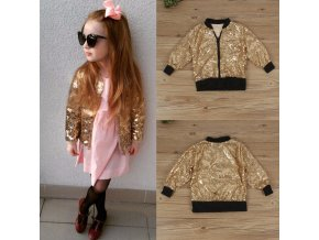 Puseky 2018 Baby Boys Girls Jackets Autumn Baseball Clothes Kids Coats Warm Thick Children Outerwear Sequins 1