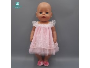 Doll Clothes fits 45cm american girl and Baby Born Zapf Doll fashion princess dress and Panties 1