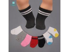 5pcs lot Dolls sock fits 45cm american girl and 43 cm Baby Born zapf dolls sock 1