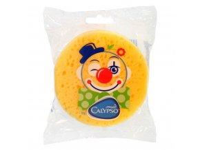 Koupelová houba Klaun Calypso žlutá
