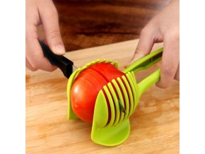 Plastic Potato Slicer Tomato Cutter Tool Shreadders Lemon Cutting Holder Cooking Tools Kitchen Accessories 6