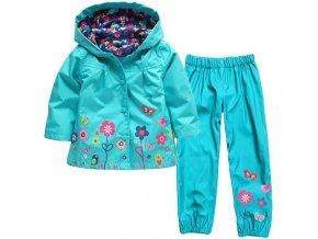Girls Clothing Raincoat Sets Autumn Girls Clothes Set Hoodie Jackets Pants Kids Clothes Sport Suit Children 1