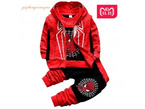 New Spiderman Baby Boys Clothing Sets Cotton Sport Suit For Boys Clothes Spring Spider Man Costumes 1