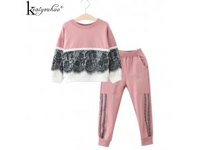 High Qulity Tracksuit For Girls Clothes Christmas Suits Children Clothing Sets Girls Sport Suit Costume For 5