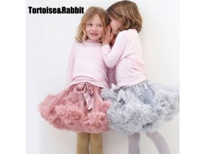 New Baby Girls Tutu Skirt Ballerina Pettiskirt Fluffy Children Ballet Skirts For Party Dance Princess Girl 1