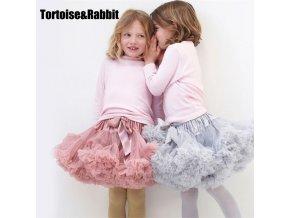 New Baby Girls Tutu Skirt Ballerina Pettiskirt Fluffy Children Ballet Skirts For Party Dance Princess Girl 1