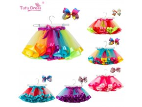 Fashion Sweet Toddler Kids Baby Girls Clothes Tutu Skirt Outfits Summer Cute Children Tulle Skirt Bow 1