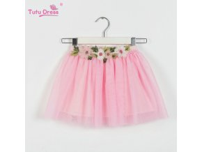 2 12 Years Fashion Girl Clothes TuTu Skirt Kids Pricess Girls Floral Skirts Lovely Pettiskirt TuTu 1